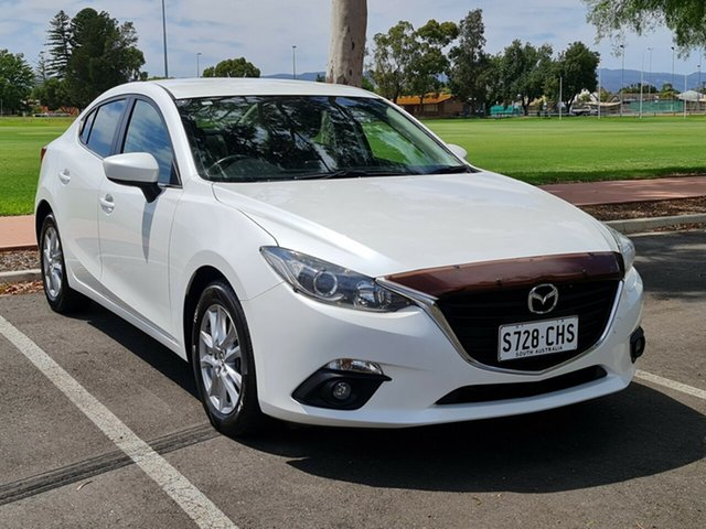 Used Mazda 3 BM5278 Maxx SKYACTIV-Drive Nailsworth, 2015 Mazda 3 BM5278 Maxx SKYACTIV-Drive White 6 Speed Sports Automatic Sedan