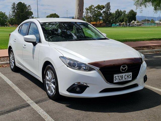 Used Mazda 3 BM5278 Maxx SKYACTIV-Drive Nailsworth, 2015 Mazda 3 BM5278 Maxx SKYACTIV-Drive White 6 Speed Sports Automatic Sedan