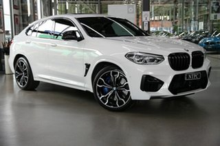 2020 BMW X4 M F98 Competition Coupe M Steptronic M xDrive White 8 Speed Sports Automatic Wagon.