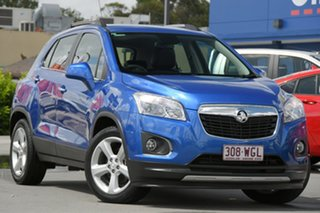 2016 Holden Trax TJ MY17 LTZ Blue 6 Speed Automatic Wagon.