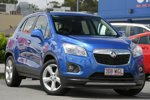 Used Holden Trax TJ MY17 LTZ Aspley, 2016 Holden Trax TJ MY17 LTZ Blue 6 Speed Automatic Wagon