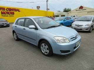 2006 Toyota Corolla ZZE122R MY06 Ascent Seca Silver 4 Speed Automatic Hatchback.