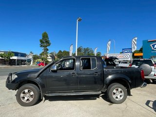2008 Nissan Navara D40 ST-X Black 5 Speed Automatic Utility.