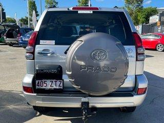 2005 Toyota Landcruiser Prado GRJ120R GXL Silver 5 Speed Automatic Wagon