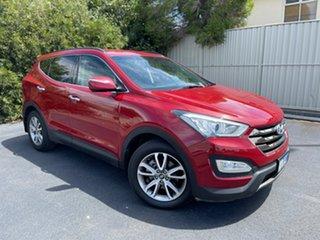 2013 Hyundai Santa Fe DM MY13 Elite Red/Black 6 Speed Sports Automatic Wagon.