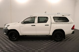 2017 Toyota Hilux GUN125R Workmate Double Cab Glacier 6 speed Automatic Utility