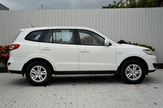 2010 Hyundai Santa Fe CM MY10 SLX White 6 Speed Sports Automatic Wagon