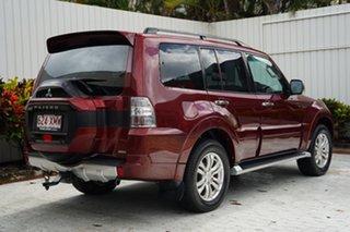 2017 Mitsubishi Pajero NX MY17 GLS Terra Rossa 5 Speed Sports Automatic Wagon.