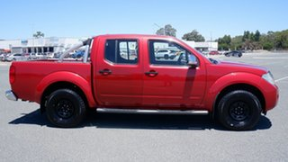 2011 Nissan Navara D40 ST-X Red 5 Speed Automatic Utility.