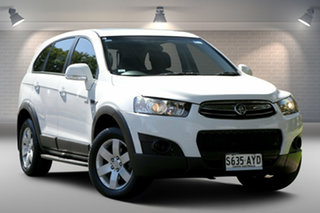 2013 Holden Captiva CG MY13 7 AWD CX White 6 Speed Sports Automatic Wagon.
