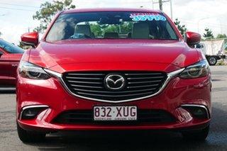 2017 Mazda 6 GL1031 Atenza SKYACTIV-Drive Red 6 Speed Sports Automatic Sedan.