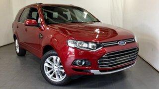 2012 Ford Territory SZ TS Seq Sport Shift Red 6 Speed Sports Automatic Wagon.