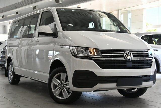 New Volkswagen Multivan T6.1 MY21 TDI340 LWB DSG Comfortline Premium Victoria Park, 2020 Volkswagen Multivan T6.1 MY21 TDI340 LWB DSG Comfortline Premium White 7 Speed