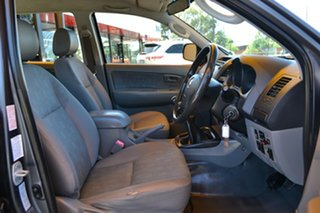 2010 Toyota Hilux KUN26R MY10 SR Grey 5 Speed Manual Cab Chassis.