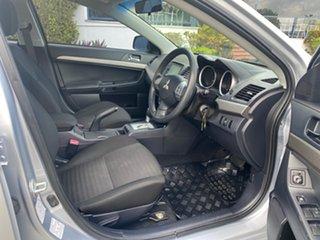 2012 Mitsubishi Lancer CJ MY12 ES Silver 6 Speed Constant Variable Sedan
