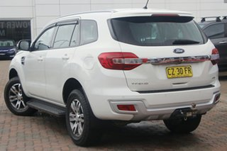 2015 Ford Everest UA Trend White 6 Speed Sports Automatic SUV.