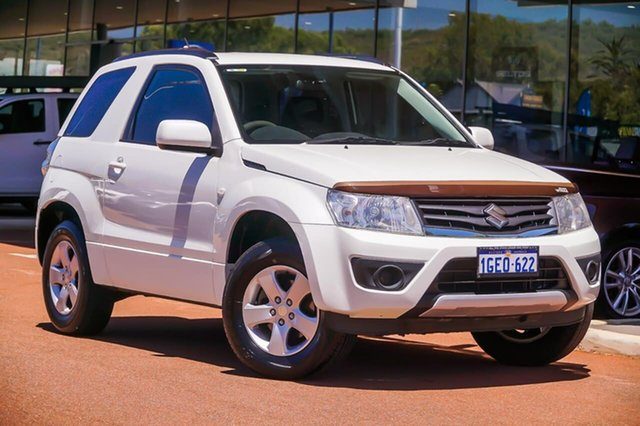 Used Suzuki Grand Vitara JB Navigator Gosnells, 2016 Suzuki Grand Vitara JB Navigator White 5 Speed Manual Hardtop