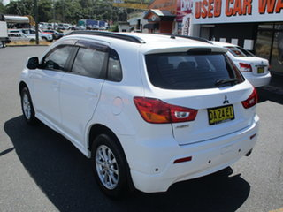 2011 Mitsubishi ASX XA (2WD) White 5 Speed Manual Wagon.