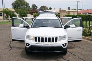 2012 Jeep Compass MK MY12 Sport (4x2) White 5 Speed Manual Wagon