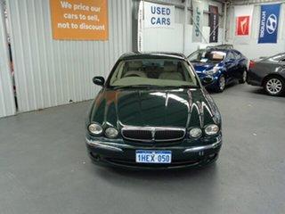 2002 Jaguar X-Type X400 SE Green 5 Speed Automatic Sedan.