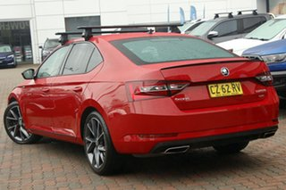 2017 Skoda Superb NP MY18 206TSI Sedan DSG Red 6 Speed Sports Automatic Dual Clutch Liftback.