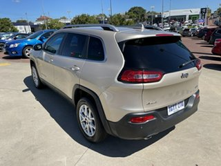 2014 Jeep Cherokee KL Longitude (4x4) Gold 9 Speed Automatic Wagon
