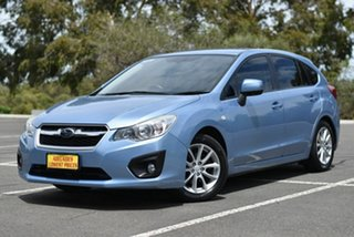 2012 Subaru Impreza G4 MY12 2.0i-L Lineartronic AWD Blue 6 Speed Constant Variable Hatchback