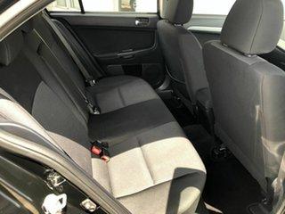 2011 Mitsubishi Lancer CJ MY11 VR Sportback Black 6 Speed Constant Variable Hatchback