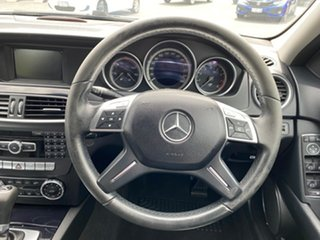 2011 Mercedes-Benz C-Class W204 MY11 C200 BlueEFFICIENCY Estate 7G-Tronic + Avantgarde Silver