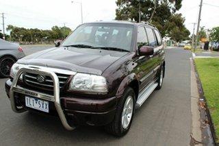 2002 Suzuki XL-7 JA Limited Edition Purple 4 Speed Automatic Wagon.