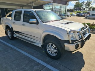 2010 Isuzu D-MAX MY10 Limited Edition II White 5 Speed Manual Utility.