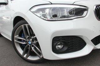 2018 BMW 1 Series F20 LCI-2 125i M Sport Alpine White 8 Speed Sports Automatic Hatchback.