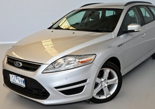 2012 Ford Mondeo MC LX PwrShift TDCi Silver 6 Speed Sports Automatic Dual Clutch Wagon