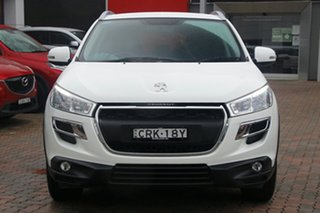 2014 Peugeot 4008 MY14 Active 2WD White 6 Speed Constant Variable Wagon