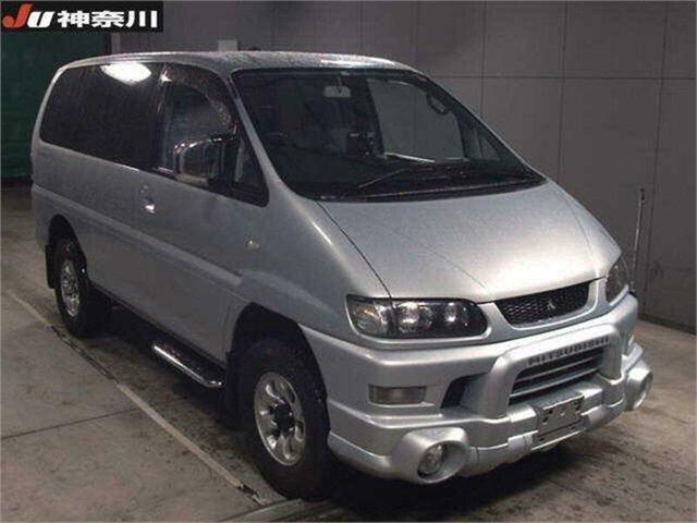 Used Mitsubishi Delica Silverwater, 2004 Mitsubishi Delica PD6W Spacegear Silver Automatic Van Wagon