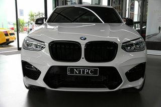 2020 BMW X4 M F98 Competition Coupe M Steptronic M xDrive White 8 Speed Sports Automatic Wagon