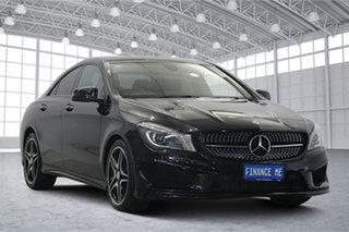 2016 Mercedes-Benz CLA-Class C117 806MY CLA200 d DCT Black 7 Speed Sports Automatic Dual Clutch.