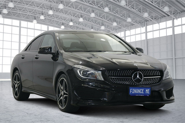 Used Mercedes-Benz CLA-Class C117 806MY CLA200 d DCT Victoria Park, 2016 Mercedes-Benz CLA-Class C117 806MY CLA200 d DCT Black 7 Speed Sports Automatic Dual Clutch