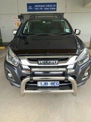 2018 Isuzu D-MAX MY18 LS-U Crew Cab Obsidian Grey 6 Speed Sports Automatic Utility.