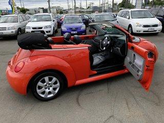2003 Volkswagen Beetle 9C Cabriolet Orange & Black 6 Speed Tiptronic Cabriolet