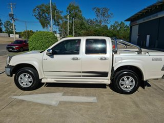 2010 Isuzu D-MAX MY10 Limited Edition II White 5 Speed Manual Utility