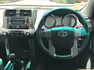 2012 Toyota Landcruiser Prado KDJ150R GX Glacier 6 speed Manual Wagon