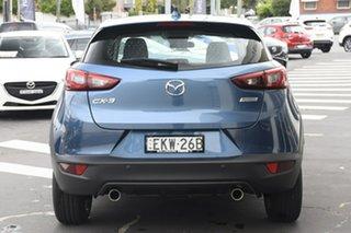 2020 Mazda CX-3 DK2W7A Maxx SKYACTIV-Drive FWD Sport Blue 6 Speed Sports Automatic Wagon