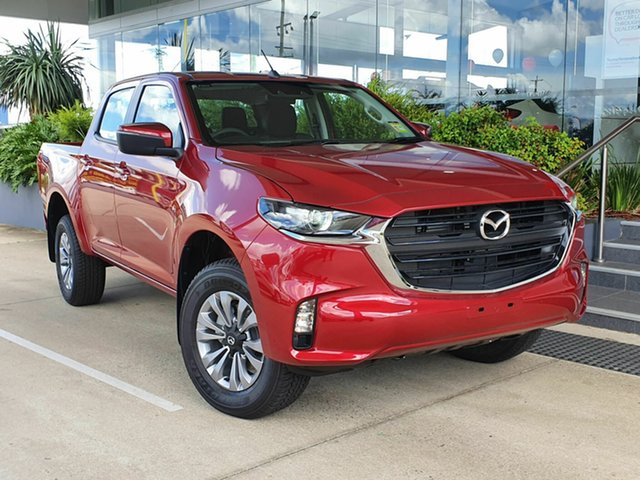 New Mazda BT-50 XT Beaudesert, 2020 Mazda BT-50 B30 XT Red 6 Speed Manual Dual Cab
