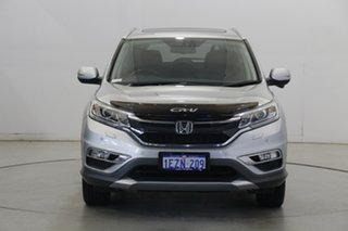 2016 Honda CR-V RM Series II MY17 VTi-L 4WD Silver 5 Speed Sports Automatic Wagon.