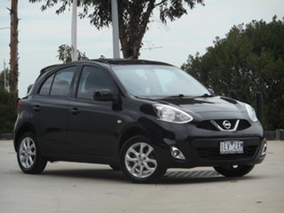2015 Nissan Micra K13 Series 4 MY15 TI 4 Speed Automatic Hatchback.
