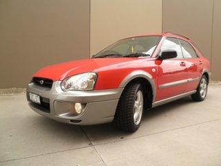 2003 Subaru Impreza S MY03 RV AWD Red & Light Grey 5 Speed Manual Hatchback.