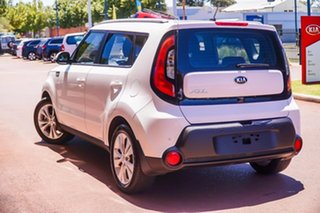2014 Kia Soul PS MY15 SI White 6 Speed Sports Automatic Hatchback