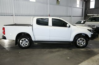 2016 Holden Colorado RG MY16 LT Crew Cab White 6 Speed Sports Automatic Utility