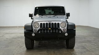 2018 Jeep Wrangler JK MY18 Unlimited Sport Silver 6 Speed Manual Softtop